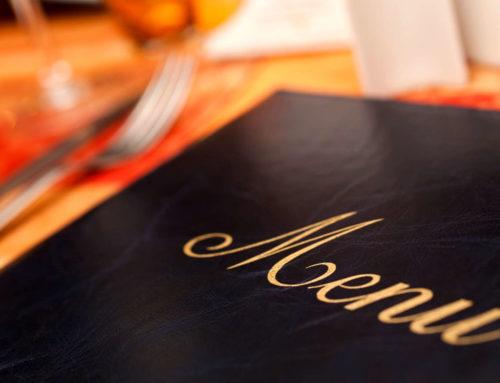 Anche il menu ha la sua importanza